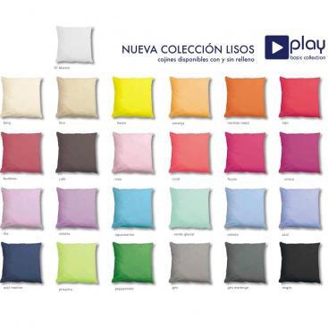 Cojin Play colores lisos de Cañete