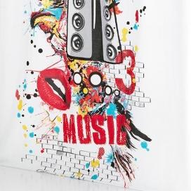 Cortina con ojales Music de Cañete