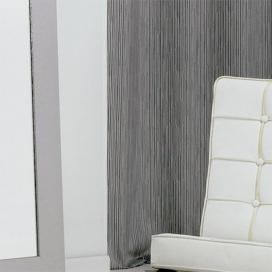 Cortina con ojales Pol rayas Color Gris