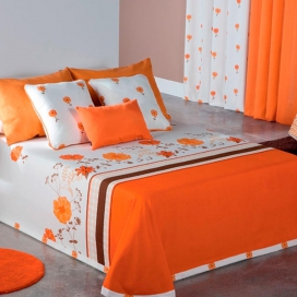 Colcha capa Sofy naranja