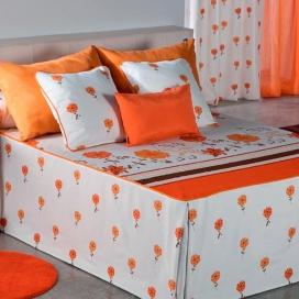 Colcha verano Sofy naranja