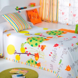 Colcha capa infantil primavera verano oto o entre tiempos for Diseno hogar online