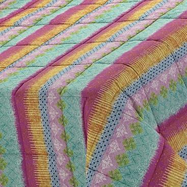 Edredón Conforter Bongo Stripe Fucsia