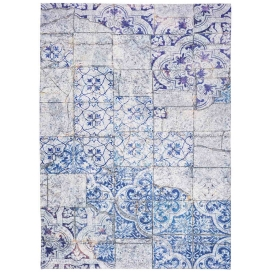 Alfombra Alice 19-07 azul