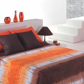 Detalle Funda Nórdica Loica de Cañete naranja