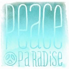 Estampado Cojín Peace 1 de JVR