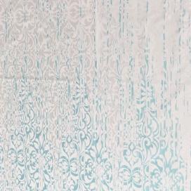 Estampado Cortina con ojales Lara azul de JVR