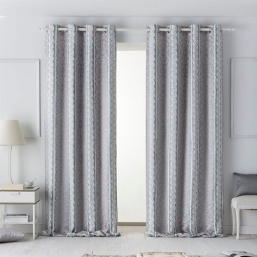 cortina con ojales livia de jvr