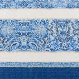 Estamapdo Edredón Ajustable Amber azul de JVR