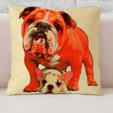 Cojín Bulldog de Martina Home
