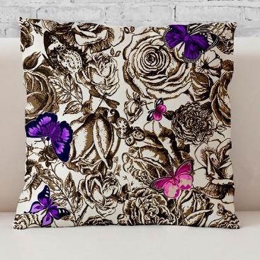 Cojín Monarch lila de Martina Home