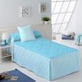 Colcha Edredón Candy Star azul de Martina Home