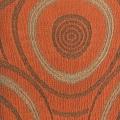 Textura funda Sillón Orejero Marbell naranja de Martina Home