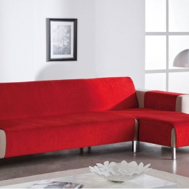 Salvasofá Chaise Longue Petra rojo de Martina Home