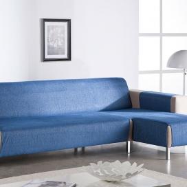 Salvasofá Chaise Longue Carla azul de Martina Home