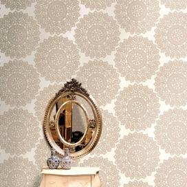 Ambiente Papel Pintado Colección Lustre 65093 de Iberostil