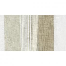 Estampado cortina con ojales Sile beig de Fundeco