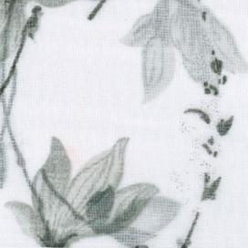 Estampado Cortina con ojales Tirso gris de Fundeco