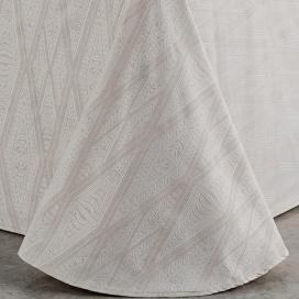Textura colcha capa Lloret lino de Estela