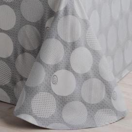 Textura colcha capa Gijón gris de Estela
