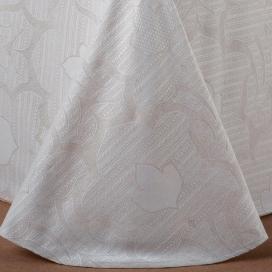 Textura colcha capa Cangas lino de Estela