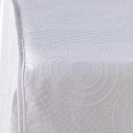 Textura colcha Paris Llanes blanco de Estela