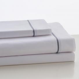Sábana Liso Blanco 100% algodón de Estela
