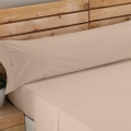 Ambiente sábana Liso Biés 100% algodón piedra de Estela
