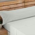 Ambiente sábana Liso Biés 100% algodón hueso de Estela