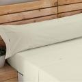 Ambiente sábana Liso Biés 100% algodón marfil de Estela