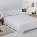 Ambiente sábana Liso Biés 100% algodón blanco de Estela