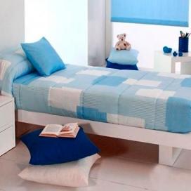 Edredón ajustable Cocese azul de Reig Marti