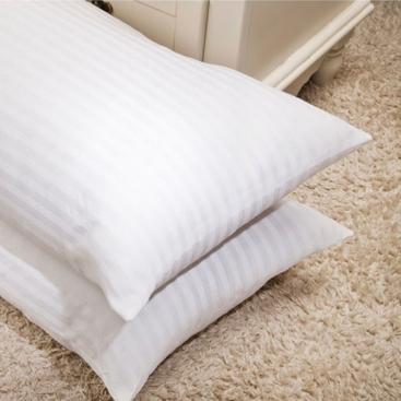 Almohada fibra doble funda Atomo