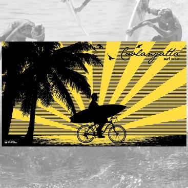 Toalla coolangatta Bike