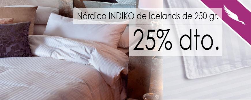 Promoción nórdico INDIKO 250 de Icelands
